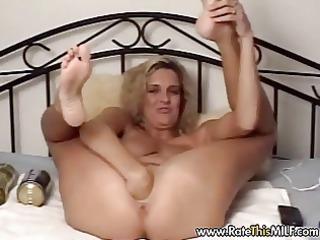 italian woman with huge dildo