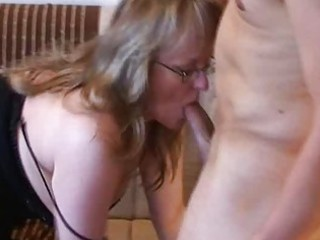busty young lady lick and fuck with white cream