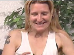 granny thin pale bangs cougar older fuck granny