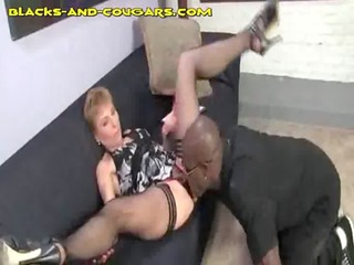 dark sucked by older blonde