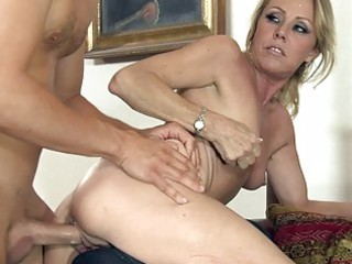 older  bitch used hard and rough
