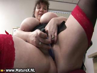 busty chubby older  angel bangs part1