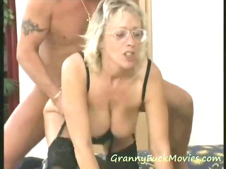 giant boob old threesome