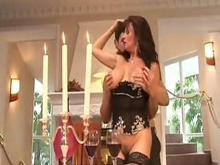 older  doxy groupfucked by rich male