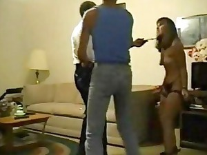 lover forces wife to gang bang an old dark man