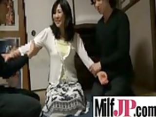 sweet japanese woman chick get drilled uneasy