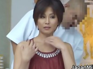asian mature babe has massage and drilling part1