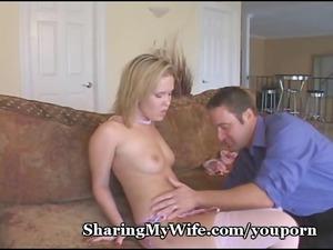 wife in pink underwear shared