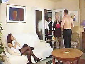 french group sex elderly and young