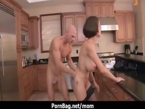 milf with big chest drilling 19