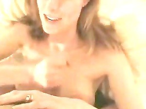 extremely impressive milf sucking giant cock and