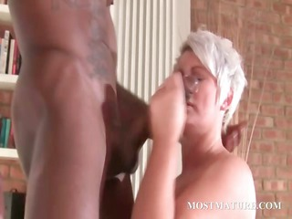 stockinged older  gangbangs brown difficult dick