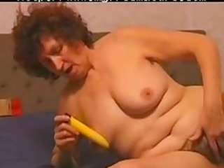 bushy mature likes her vibrator mature grown-up