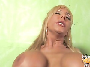 posh misty vonage dominated by black penis in