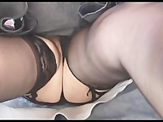 desperate hairy cougar upskirt striptease