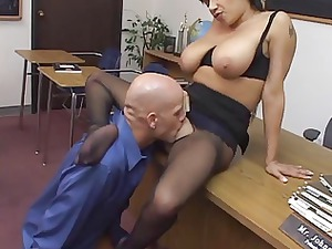 alexis silver drilled into nylons
