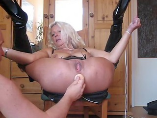german maiden rectal hole tease