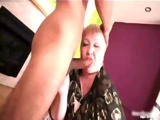 giant boobed horny mature babe blond slut nurse