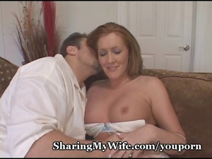 wussy hubby shares extremely impressive wifey