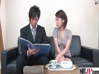 gorgeous bitch woman japanese obtain tight fuck