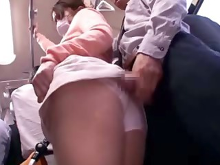 groped fresh mother reluctant openair bus orgasm