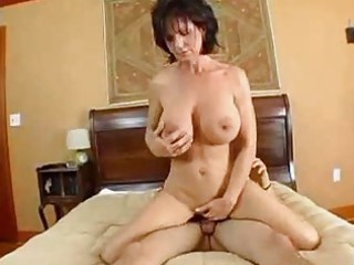 busty woman deauxma squirts from anal!