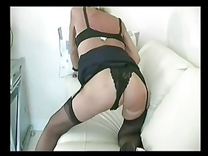 blonde underwear old fisting