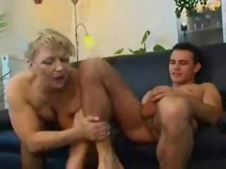cougar albino russian older  eats his libido and