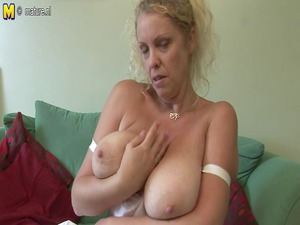 large boobed english mother exposes off awesome