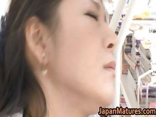 ayane asakura eastern  milf has outside porn part2