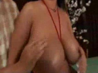 large breast latin lady