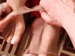 older  footjob film 1