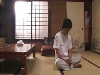 heavy japanese elderly getting her vagina worked