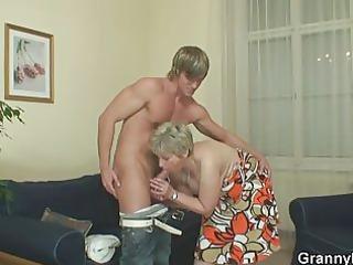 mature babe had amateur penis