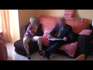 spy woman bangs commercial agent