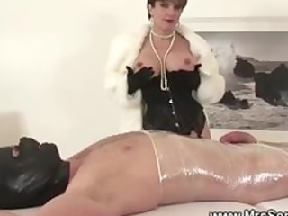 british dominatrix mummification and wrapping
