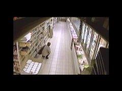older  pee and shit inside supermarket