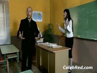 super english milf teacher hardcore instructor