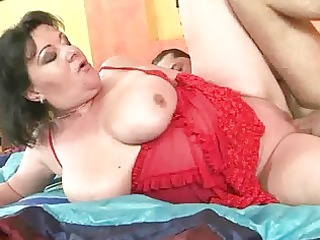 slutty chubby grandma getting fucked difficult