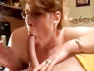 sensational deepthroat dick sucking by older