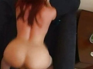 redhaired milf likes doggystyle!