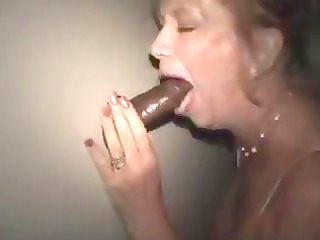 grownup blond amp takes a big dark cock treat