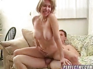 cougar with inexperienced boy