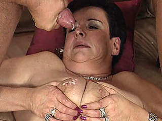 granny milf inside triple