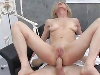 older  old albino maria fucking with doctor