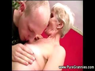 toothless elderly fellatio