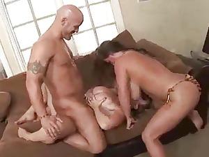 big titty threesome 6