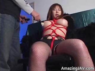 japanese momoko looking super into nylons part2