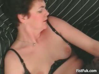 grownup amp having awesome cave fingering part4