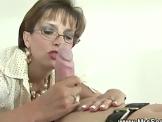 british cougar domina is fond of gags